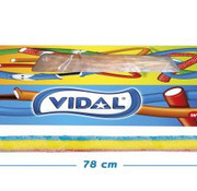 Vidal Maxi Kabel Zuur Rainbow Doos 80 Stuks Vidal