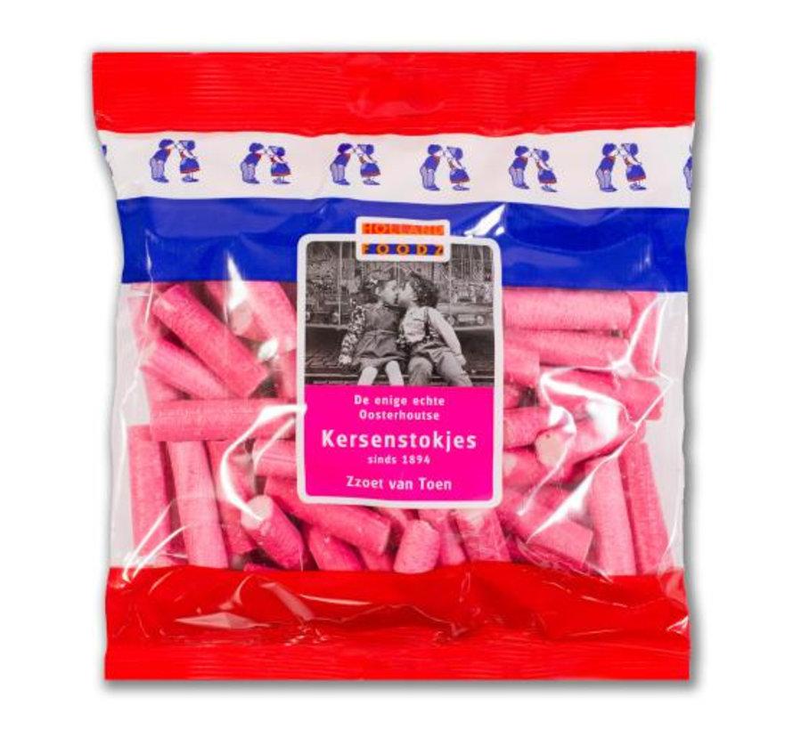 Roze Kersenstokjes