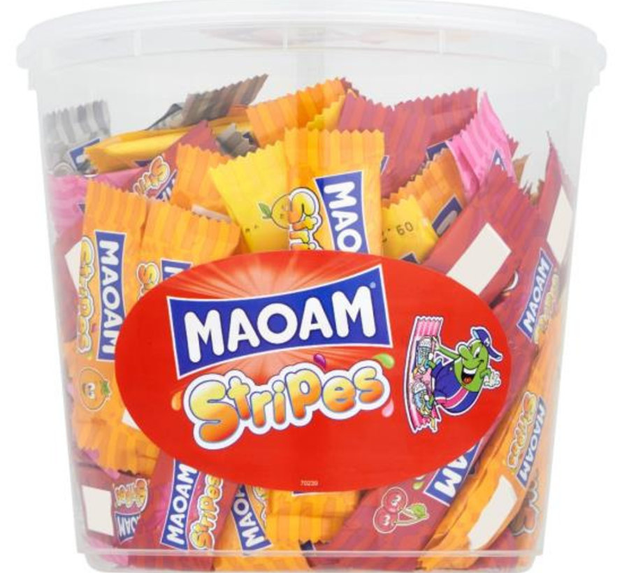 Maoam Stripes Haribo Silo 150 Stuks