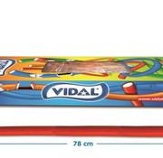 Vidal Maxi Kabels Aardbei Doos 80 Stuks Vidal