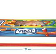 Vidal Maxi Kabels Rubarber -Doos 80 Stuks Vidal