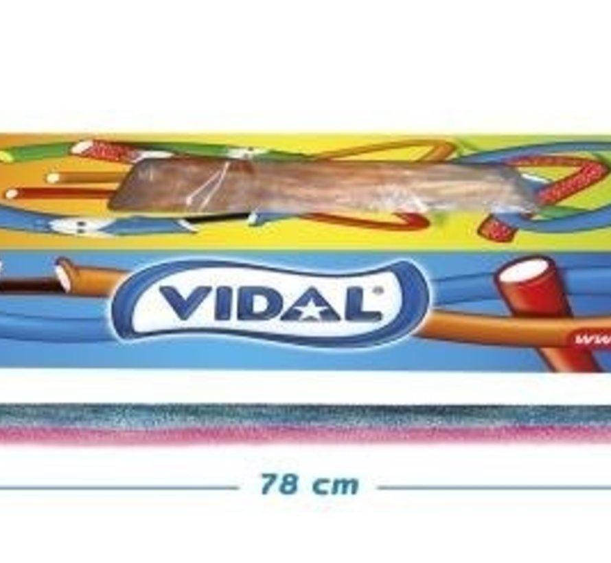 Maxi Kabels Sour Raspberry - Doos 80 Stuks Vidal