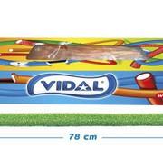 Vidal Maxi Kabels Sour Watermelon - Doos 80 Stuks Vidal
