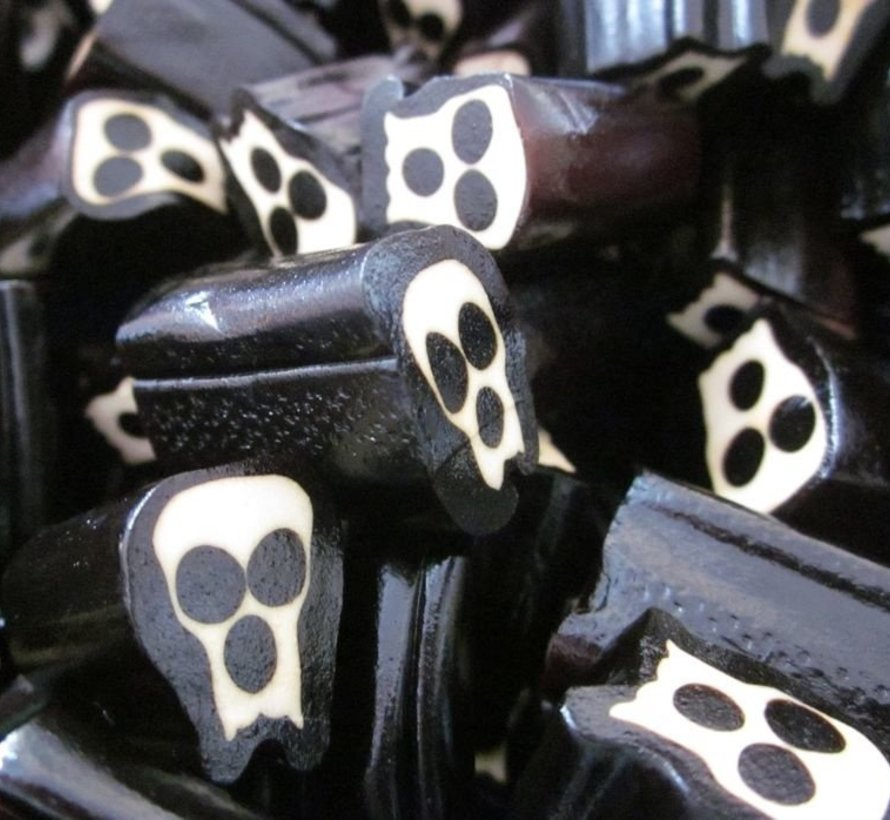 Halloween Doodskopjes Schedel Drop - 1 Kilo
