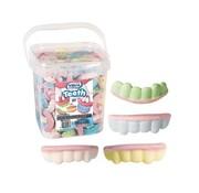 Vidal Schuim tanden gebit -Silo 200 Stuks