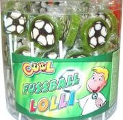 Cool Voetbal Lollies -Silo 100 Stuks
