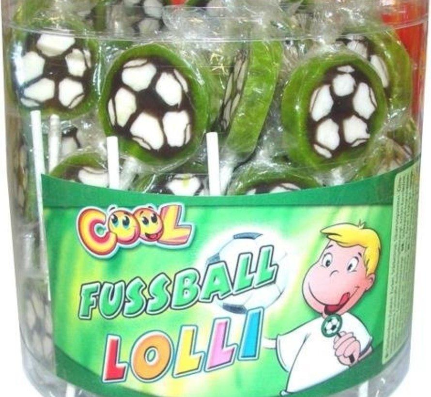 Voetbal Lollies -Silo 100 Stuks