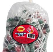 CandyMan Monster Pops Tongue Painter Lolly - Zak 175 Stuks