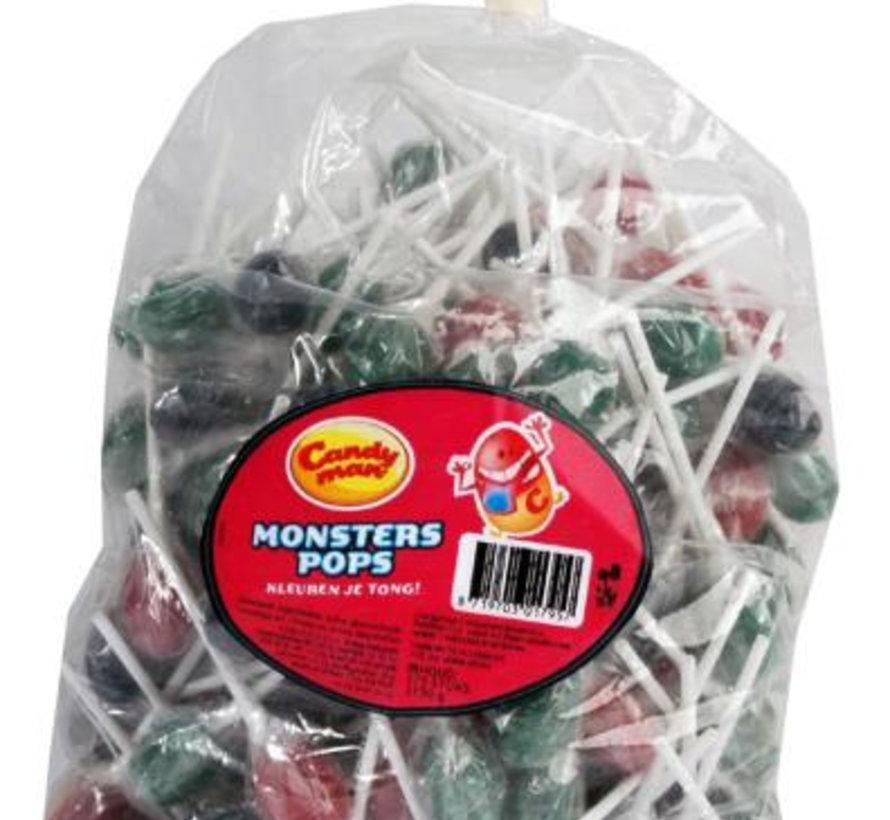 Monster Pops Tongue Painter -Zak 175 Stuks