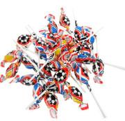 Crest Voetbal Mini Lollies -Bulk 1.200 Stuks