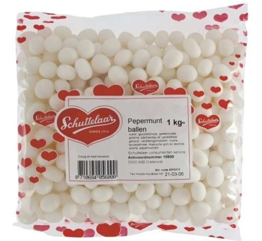Pepermunt Ballen Oud Hollands