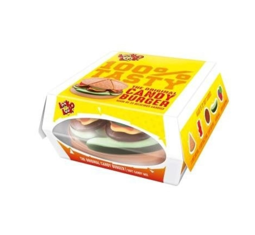 Snoep Burger Big  Tasty -Doos 9 Stuks
