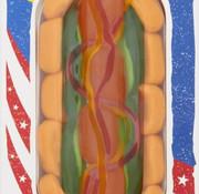 Look-O-Look Snoep Hot Dog - Doos 14 Stuks