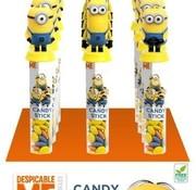 Candy Minions Candy Stick (Lentiles) Doos 12 Stuks
