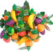 Candy Dou Plastic Fruit Gev.Met Zuur -Silo 80 Stuks