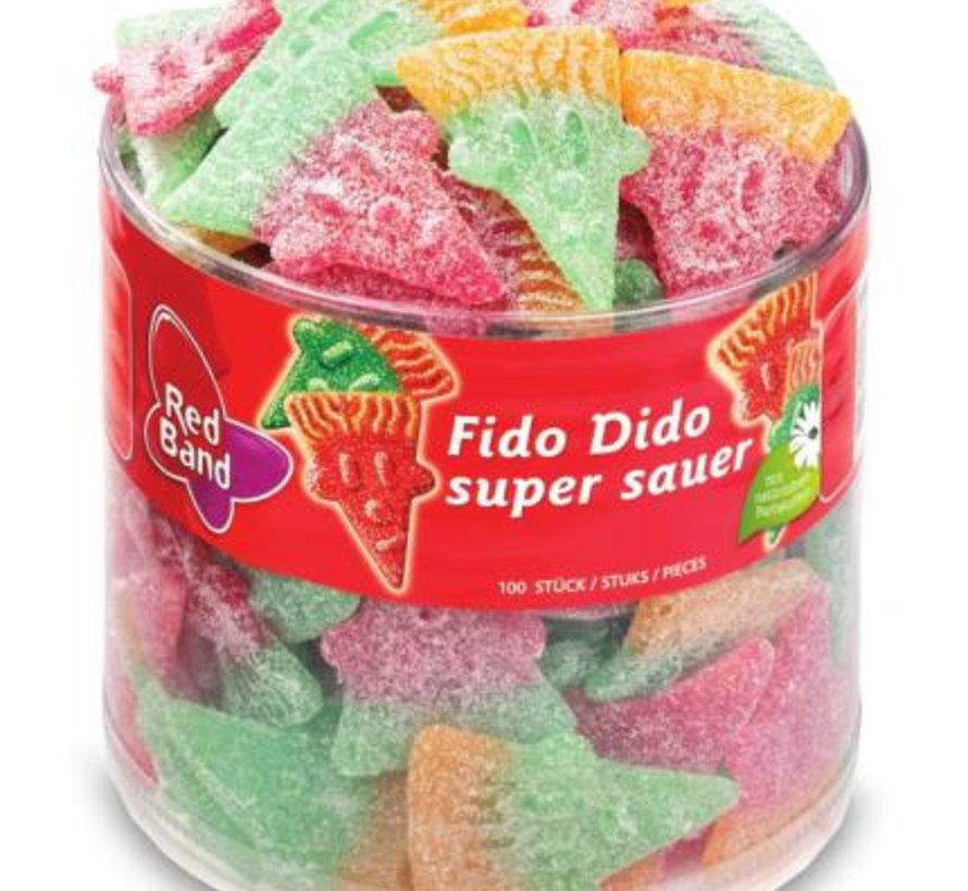 Fido Dido Super Zuur Red Band Silo 100 Stuks