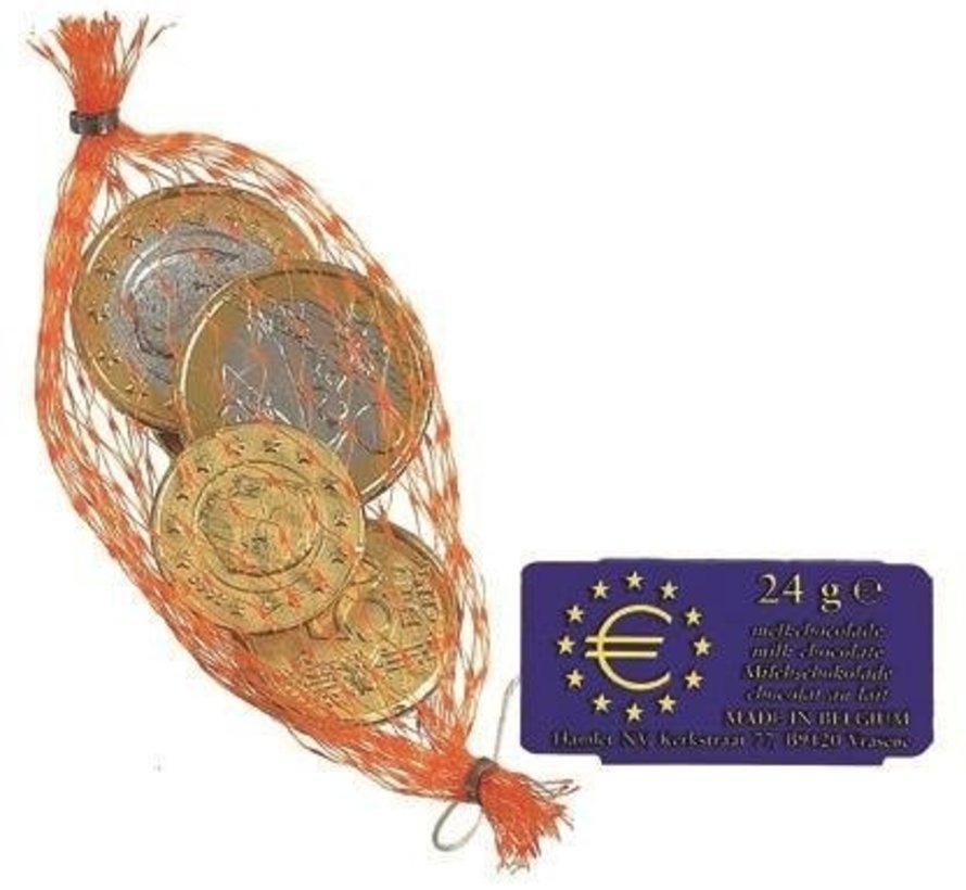 Kleine Netjes Euromunten  Silo Met 60 Stuks