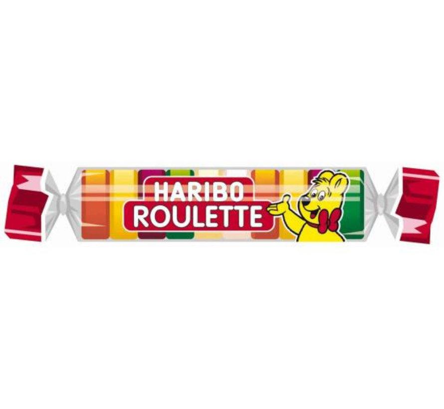 Haribo Fruit Roulette Doos 50 Stuks