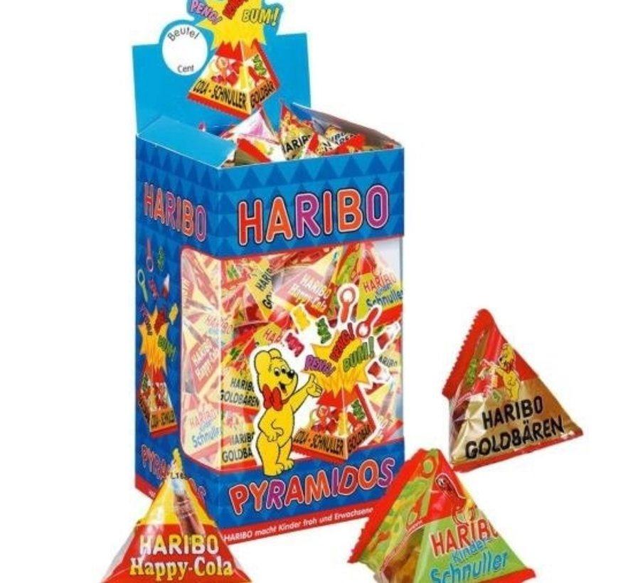 Haribo Pyramidos Doos 75 Stuks
