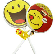 Smiley Smiley Big Lollypop  Doos 6 Stuks