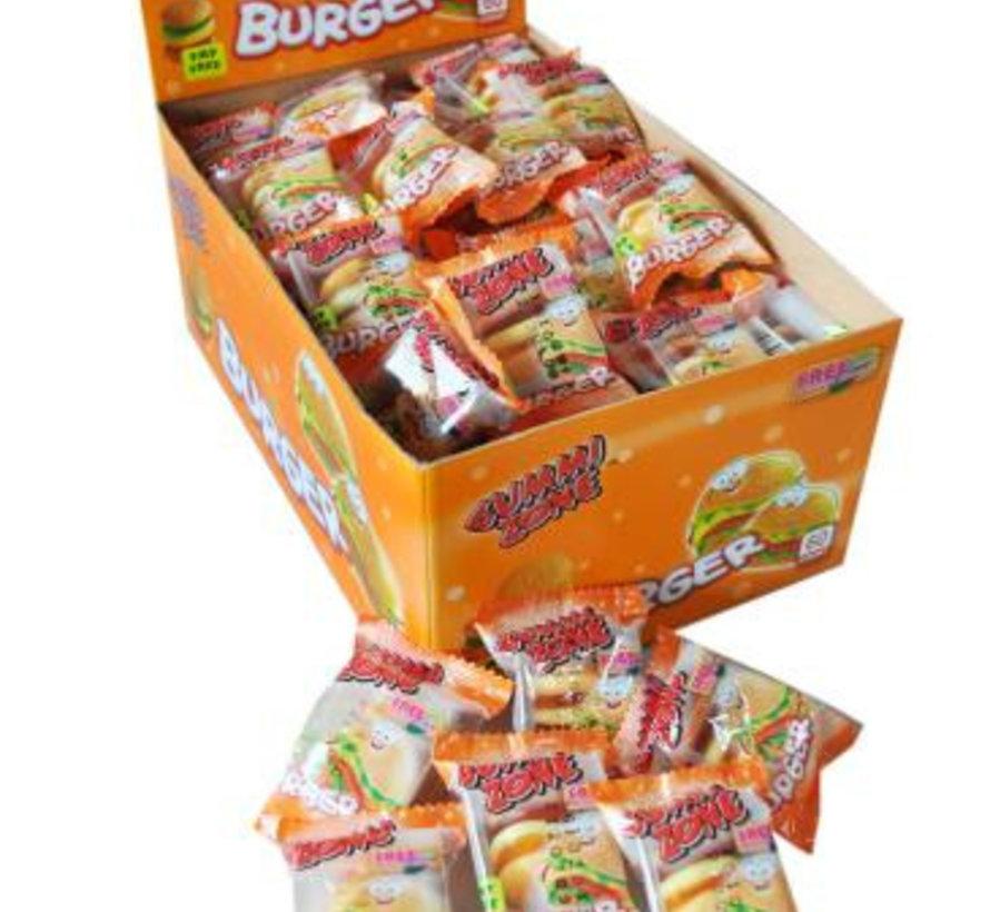 Gummy Zone Mini Burgers -Doos 60 Stuks