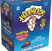 Warheads Warhead Lollies Blue Raspberry Doos 100 Stuks