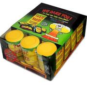 Toxic Toxic Waste Drum Geel  Doos 12 Stuks
