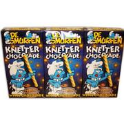 De Smurfen Smurfen Knetter Witte Chocolade 3X 50Gr Doos 16 Stuks