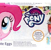 My little Pony Verrassing Chocolade Ei My Little Pony 3 Pack- Doos 24 Stuks
