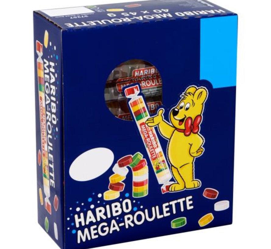 Mega Roulette Fruit Rol -Doos 40 Stuks