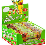 Haribo Mega Roulette Zuur Rol Doos 40 Stuks
