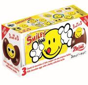 Starsweets Surprise Verrassing Chocolade Ei Smiley- Doos 24 Stuks
