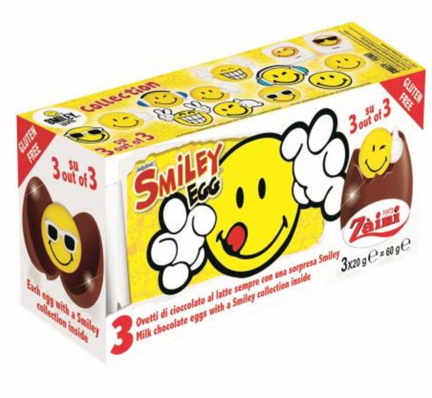 Verrassing Chocolade Surpirse  Ei Smiley- Doos 24 Stuks