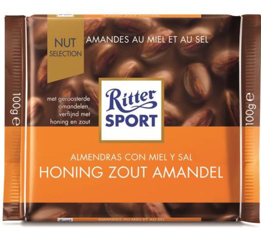 Ritter Sport Honey Salt Almonds Doos 11X 100Gr