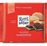 Ritter Sport Ritter Sport Marzipan Doos 12X 100Gr