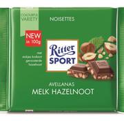 Ritter Sport Ritter Sport Melk  Gebr. Hazelnoot  Doos 12X  100Gr