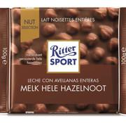Ritter Sport Melk Hele Hazelnoot  Doos 10X 100Gr