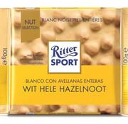 Ritter Sport Ritter Sport Witte Hele Hazelnoot - Doos 10X 100Gr