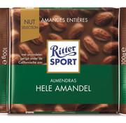 Ritter Sport Ritter Sport Chocolade Met Amandelen  Doos  11X 100Gr