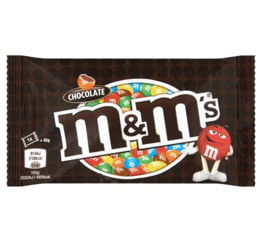 M&M'S Choco Single Doos 24 X 45 Gr