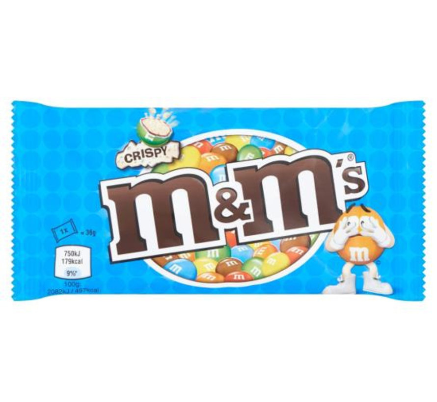 M&M'S Crispy Single Doos 24 Stuks