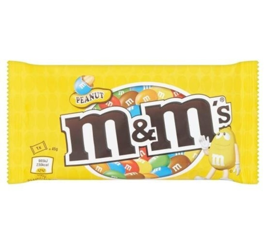 M&M'S Pinda Single  Doos 24X 45Gr