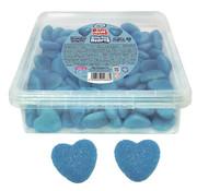 Vidal Glanzende Blauwe Hart Vidal - Silo 125 Stuks