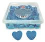 Glanzende Blauwe Hart Vidal - Silo 125 Stuks