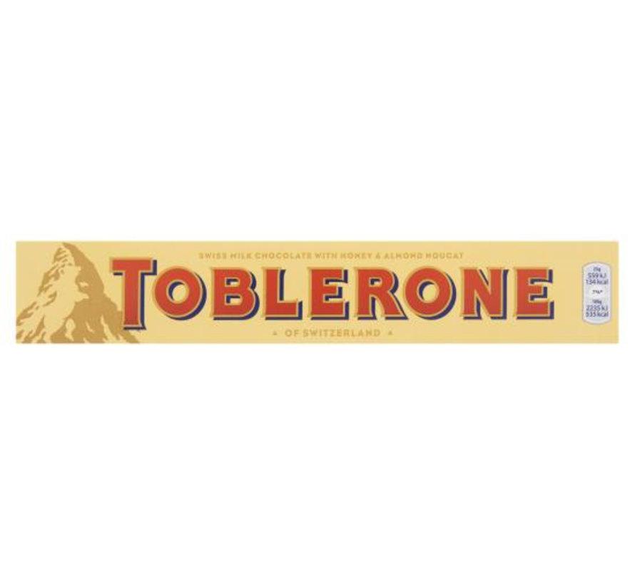Toblerone Melk Geel Doos 20 X 100Gr
