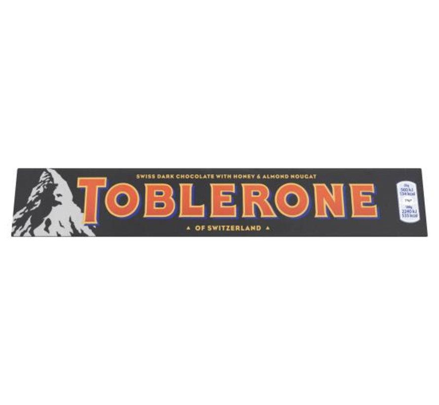 Toblerone Puur Zwart Doos 20 X 100Gr