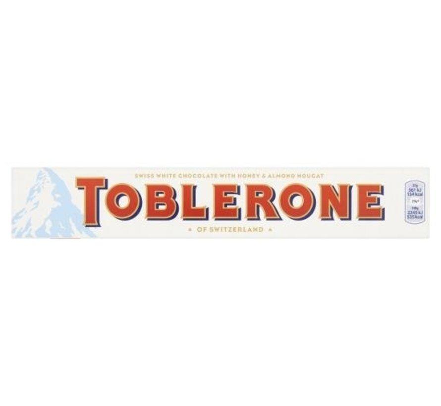 Toblerone Wit Doos 20 X 100 Gram