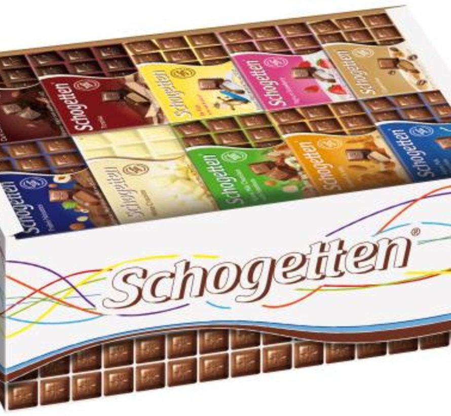 Schogetten 13 Smaken Op Displ - Doos 120 Stuks