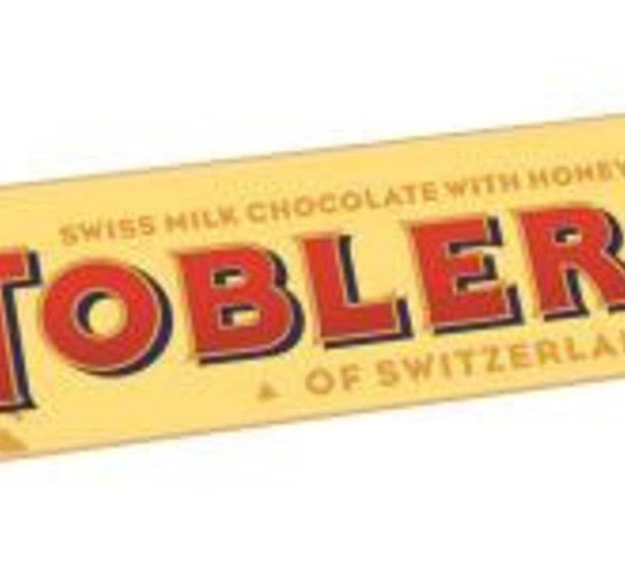 Toblerone Melk Geel  Doos 24 X 50 Gram