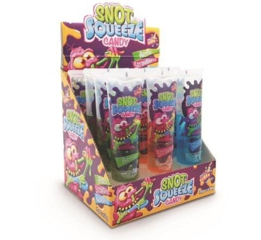 Snot Squeeze Candy  Doos 24 Stuks